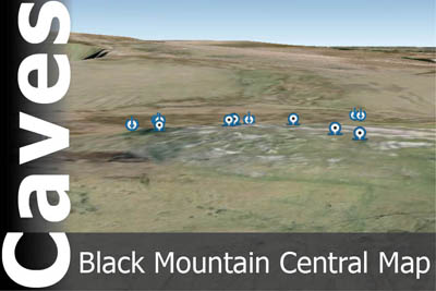 Black Mountain Central Caves Map