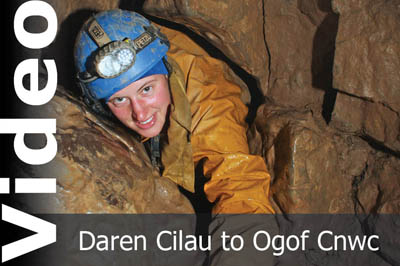 Daren Cilau to Ogof Cnwc video by Keith Edwards