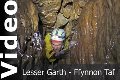 Lesser Garth Cave video by Keith Edwards