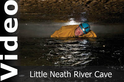 Little Neath River Cave video by Keith Edwards