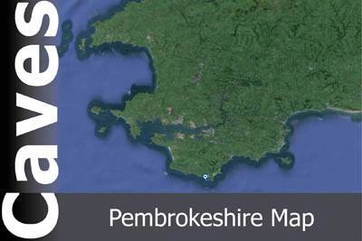 Pembrokeshire Caves Map