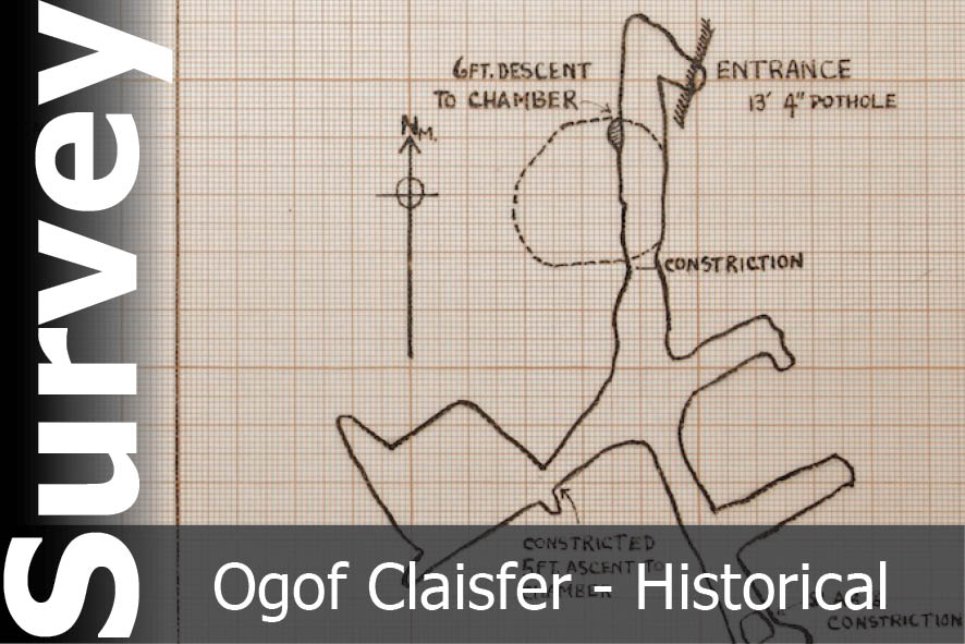 Ogof Claisfer Survey - For Historical Interest Only