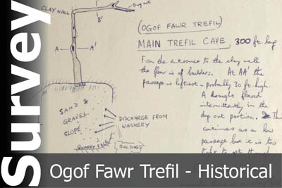 Ogof Fawr Trefil Survey - For Historical Interest Only