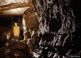 The Lower Main Chamber - Chartist Cave