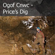 Ogof Cnwc - Price's Dig