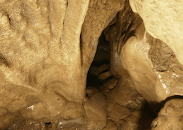 The Calcite Squeeze - Ogof Pen Eryr
