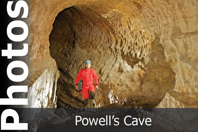 Powell's Cave photo set