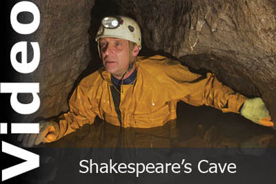 Video of Shakespeare's Cave by Keith Edwards